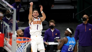 Suns 128 - Bucks 127 (Prolongation)