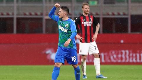 Milan victime de l'enthousiasme de Sassuolo