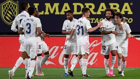 Le Real Madrid s'empare du premier rang
