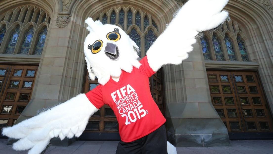 La mascotte de la coupe du monde f minine de la fifa 2015 - Coupe du monde feminine de la fifa canada 2015 ...