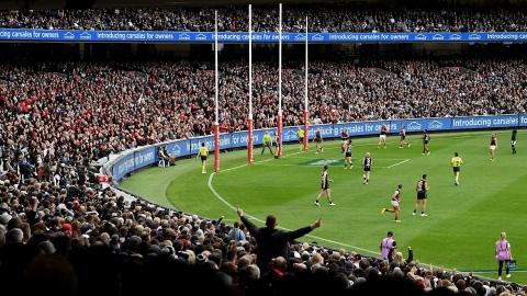 Football australien : 78 000 spectateurs à un match