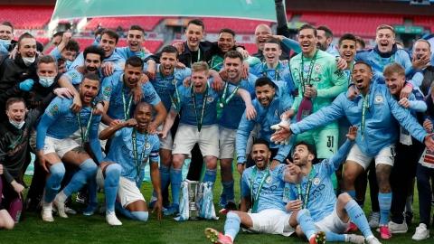 Man City gagne sa 8e Coupe de la ligue