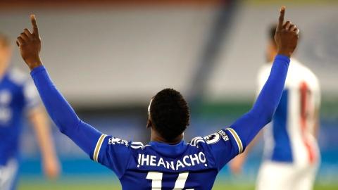 Kelechi Iheanacho fait respirer Leicester