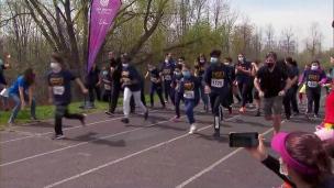 Le dépassement de soi au mini-marathon