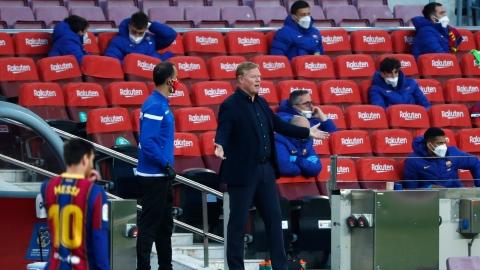 L'entraîneur du Barça critique un arbitre