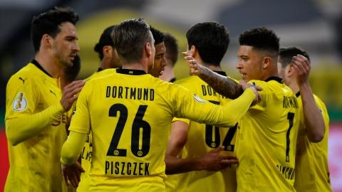 Dortmund rejoint Leipzig en finale