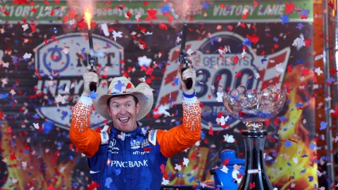Fort Worth : Dixon remporte la 1re manche