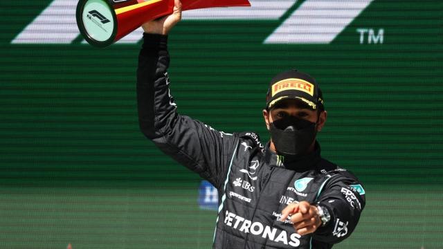 Une 2e victoire pour Hamilton cette année