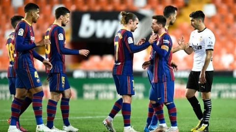 Une très courte victoire pour le FC Barcelone