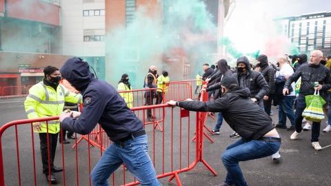 Manchester United collabore avec la police