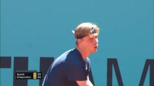 Défaite de Shapovalov au 2e tour à Madrid