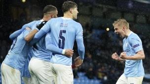 Manchester City 2 - Paris SG 0