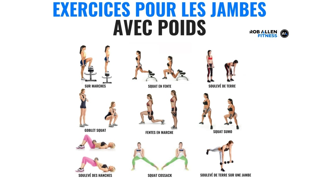 Exercices jambes