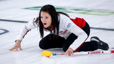 Curling : le Canada porte sa fiche à 4-1