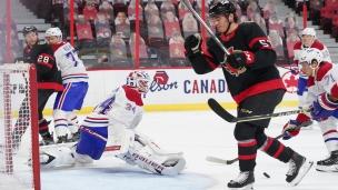 Autre faux pas du Canadien à Ottawa