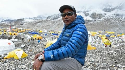 Kami Rita réalise sa 25e ascension de l'Everest