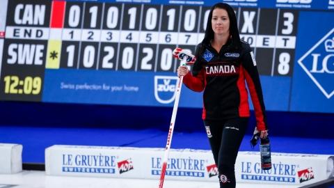 Curling : Kerri Einarson et le Canada éliminés