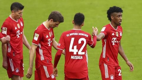 Bayern Munich 6 - Borussia Monchengladbach 0
