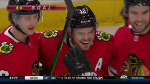 DeBrincat aidé de Kane pour son 30e