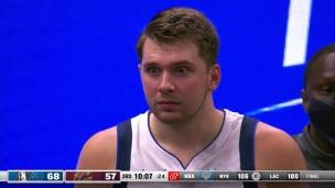 Luka Doncic expulsé pour une faute flagrante