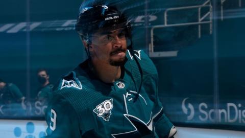 Evander Kane n'est plus sur le radar des Sharks