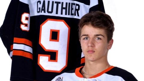 Ethan Gauthier 1er espoir selon la Centrale