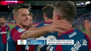 Levante 3 - FC Barcelone 3