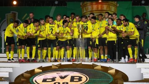 Dortmund écrase Leipzig et gagne la Coupe d'Allemagne