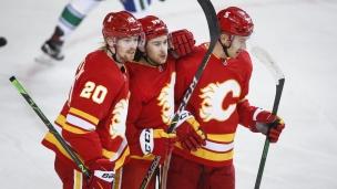 Canucks 1 - Flames 4