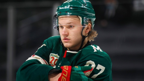 Kaprizov s'entend enfin avec le Wild pour 45 millions $