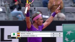 Nadal prend sa revanche sur Zverev