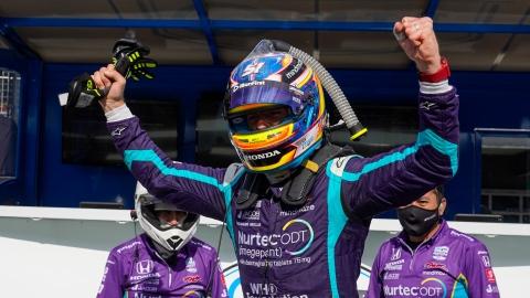 IndyCar : 1re position de tête pour Grosjean