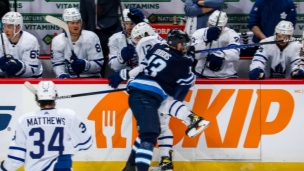 Maple Leafs 2 - Jets 4