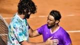 Reilly Opelka et Rafael Nadal