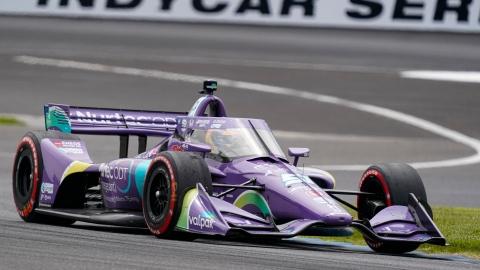 Romain Grosjean de retour sur le podium