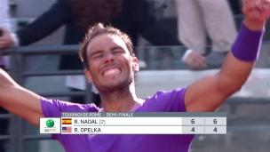 Nadal rejoint Djokovic en finale à Rome