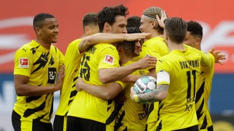 Dortmund et Wolfsburg qualifiés pour la LdC