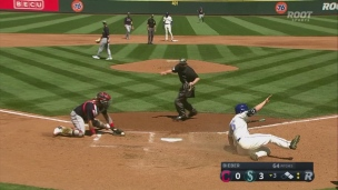 Indians 2 - Mariners 3