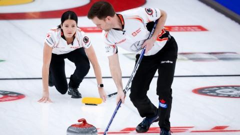 Le Canada ira aux JO en double mixte