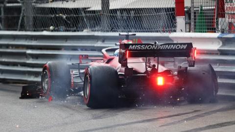 Malgré un accident, Leclerc partira premier