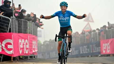 Tour d'Italie : Fortunato ouvre son palmarès