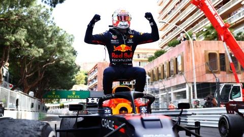 Max Verstappen remporte le GP de Monaco