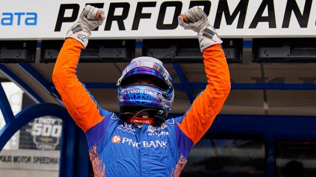 Indy 500 : la position de tête à Scott Dixon