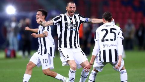 La Juventus arrache sa place en C1