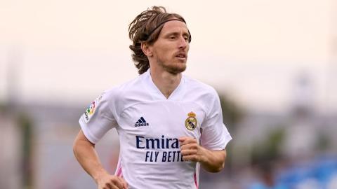 Modric avec le Real Madrid jusqu'en 2022