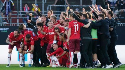 Cologne se maintient en Bundesliga