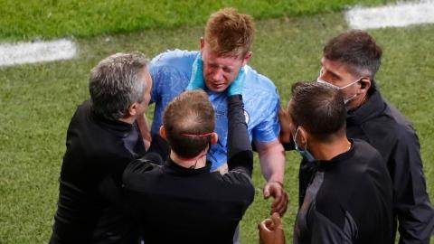 Kevin De Bruyne souffre de deux fractures