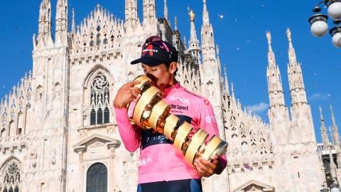 Egan Bernal gagne son premier Tour d'Italie