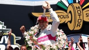 Castroneves remporte les 500 milles d'Indianapolis