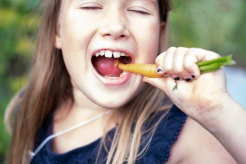 Manger carotte